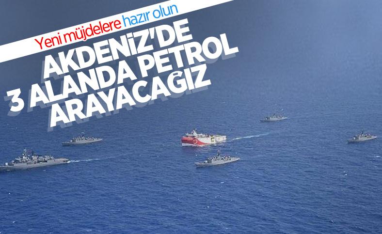 TPAO, Akdeniz'de üç alanda petrol arama ruhsatı için başvuruda bulundu