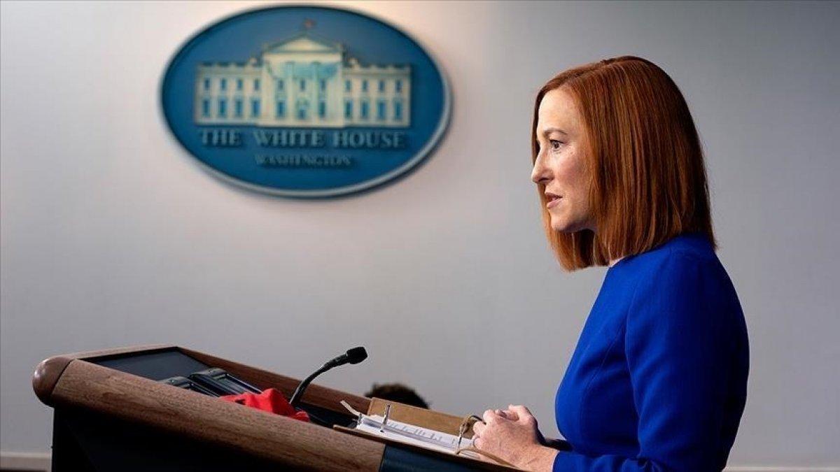 Beyaz Saray Sözcüsü Jen Psaki: Afganlar üçüncü ülkelere taşınacak #1