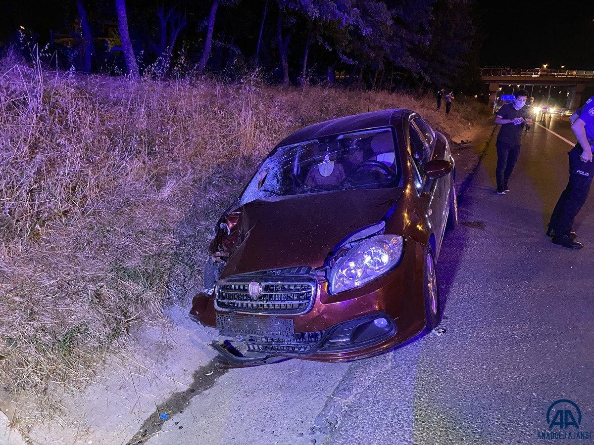 Tekirdağ da alkollü sürücü, iki kişinin ölümüne neden oldu #1