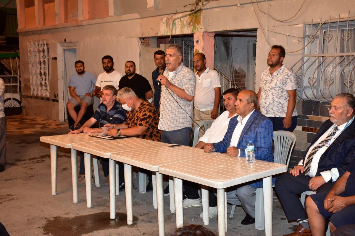 İzmir de Roman vatandaşlardan  uyuşturucuya hayır  toplantısı #5