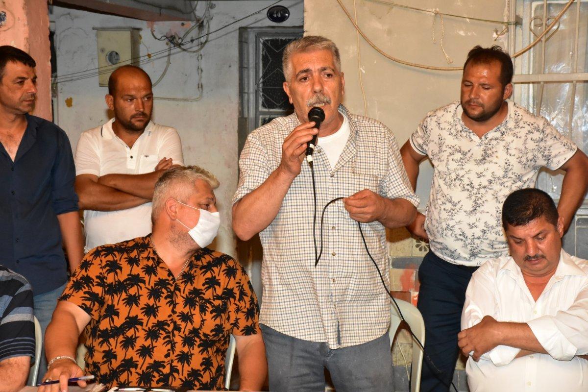 İzmir de Roman vatandaşlardan  uyuşturucuya hayır  toplantısı #9