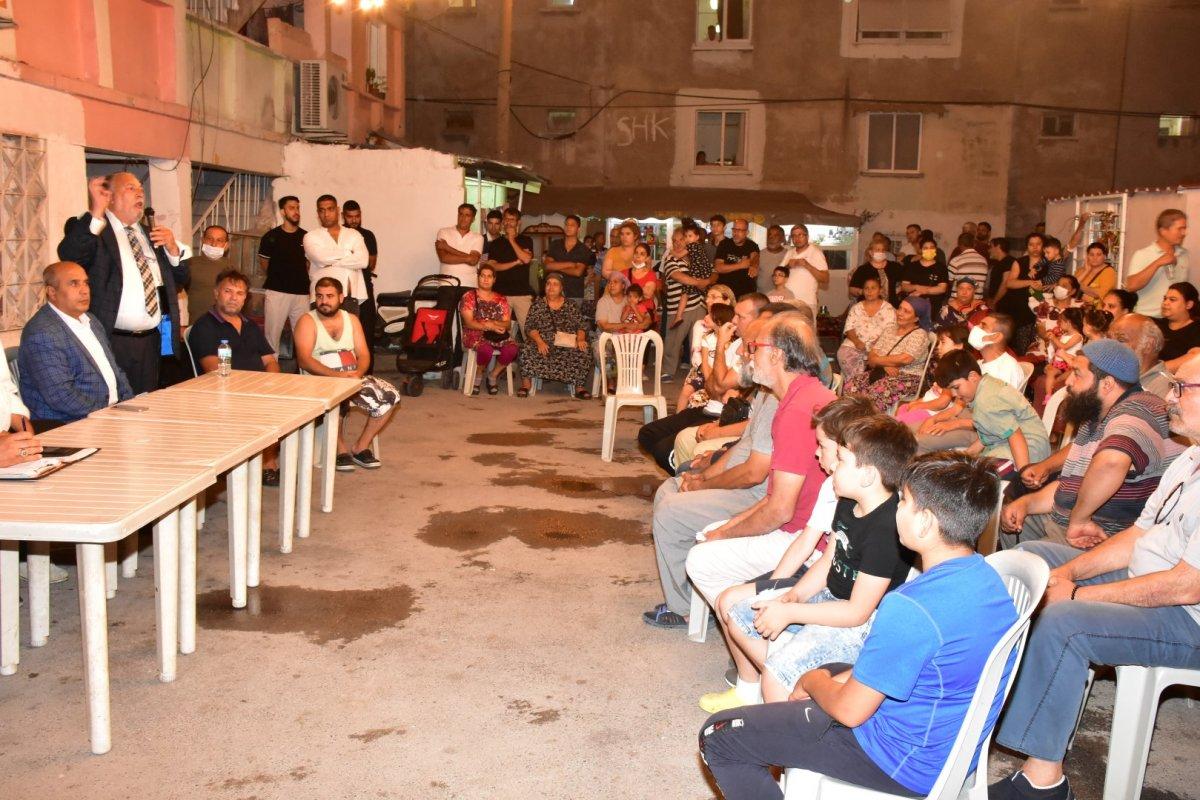 İzmir de Roman vatandaşlardan  uyuşturucuya hayır  toplantısı #3