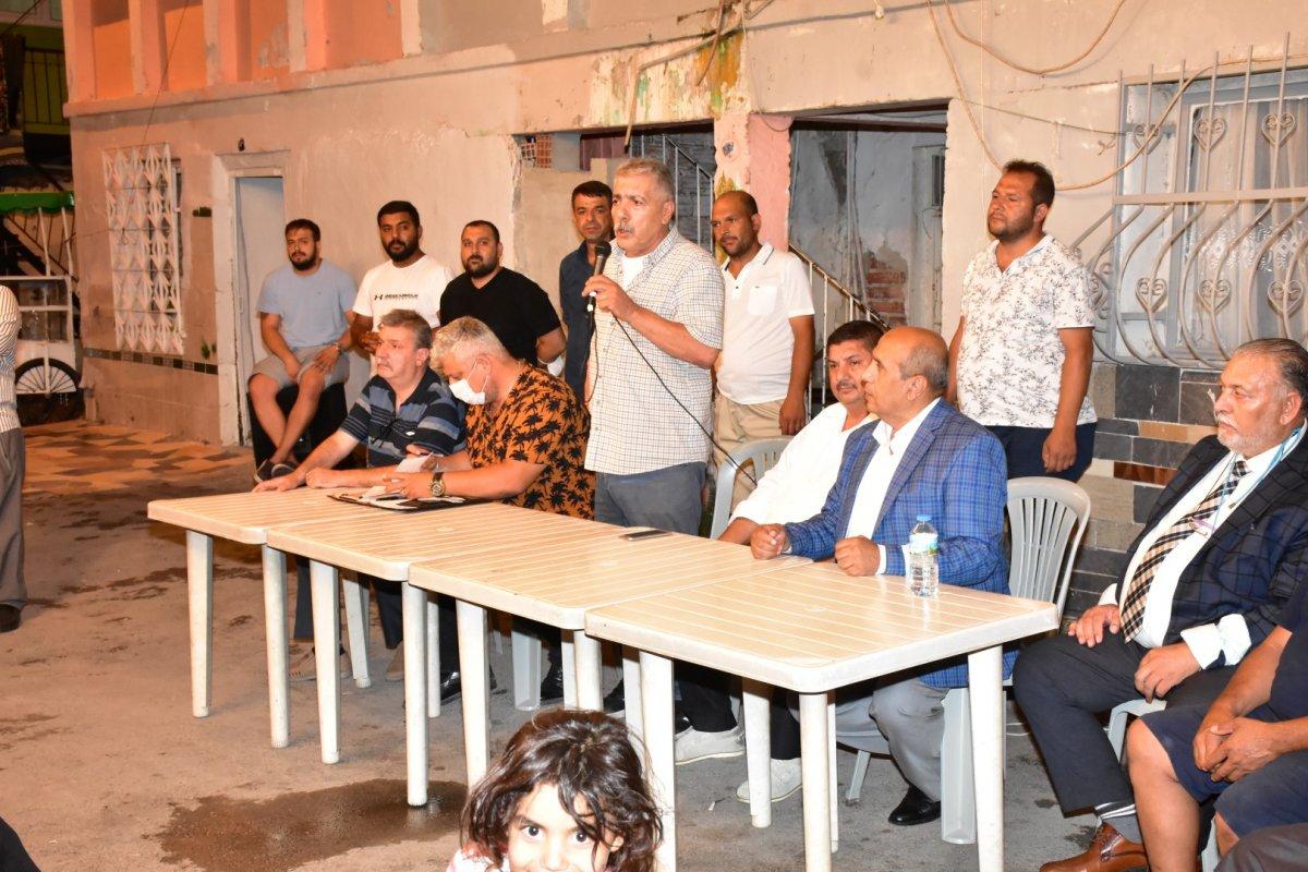 İzmir de Roman vatandaşlardan  uyuşturucuya hayır  toplantısı #2
