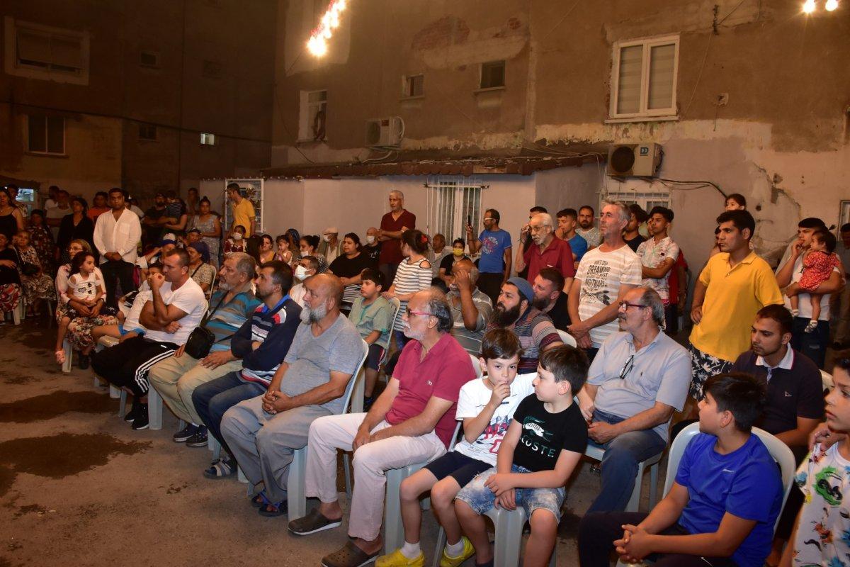 İzmir de Roman vatandaşlardan  uyuşturucuya hayır  toplantısı #10