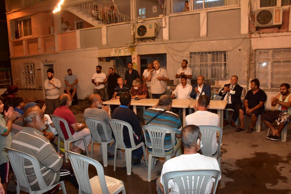 İzmir de Roman vatandaşlardan  uyuşturucuya hayır  toplantısı #4