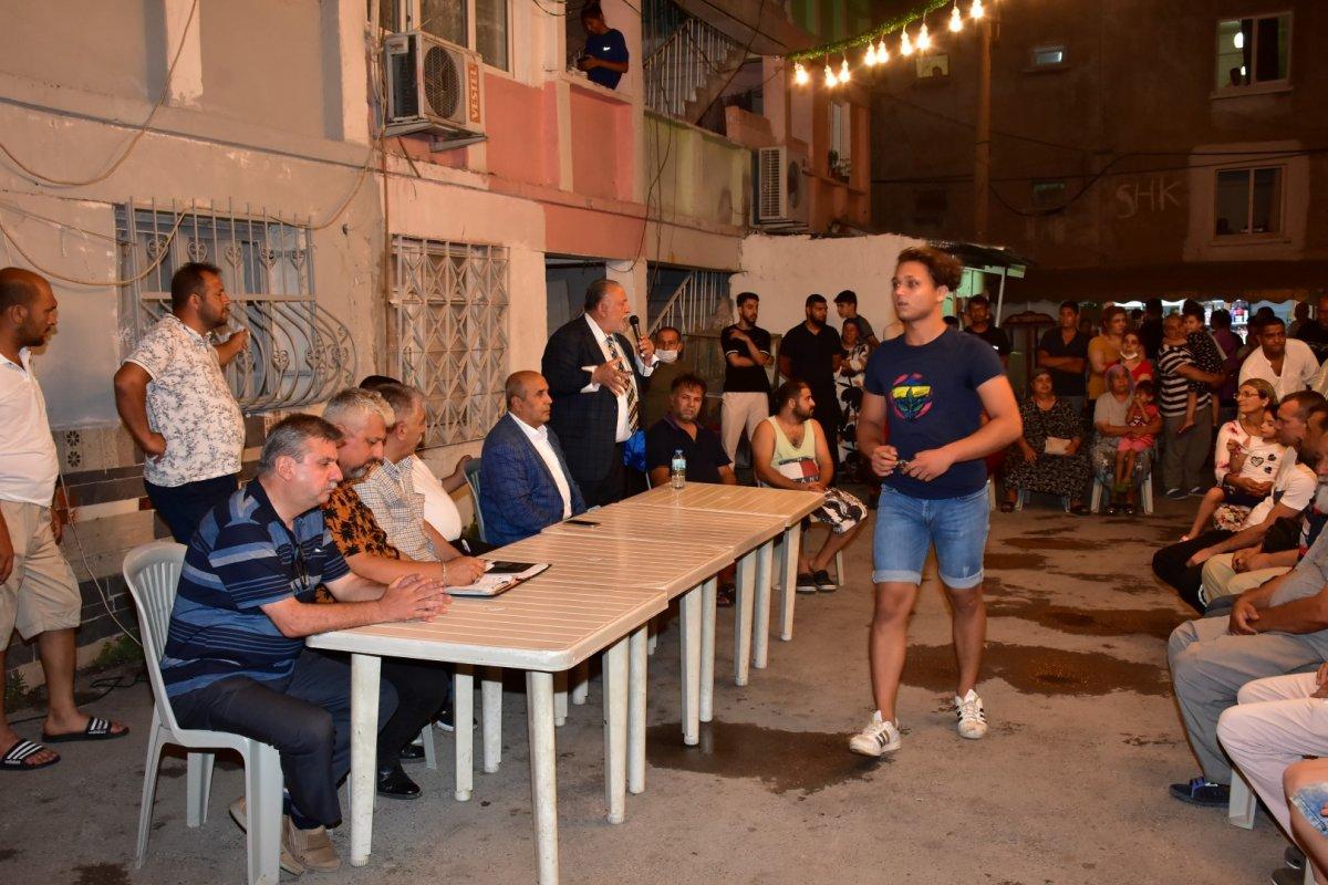 İzmir de Roman vatandaşlardan  uyuşturucuya hayır  toplantısı #7
