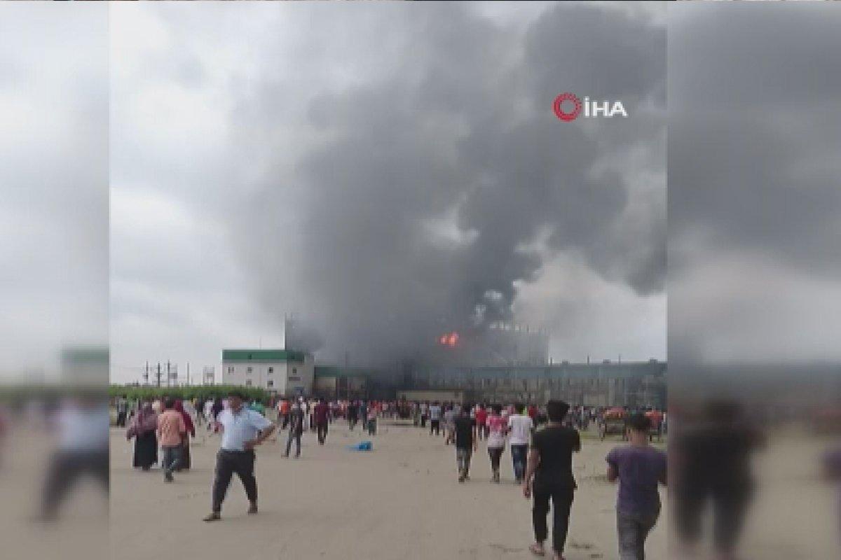 Bangladeş te gıda fabrikasında yangın: Çok sayıda ölü var #2