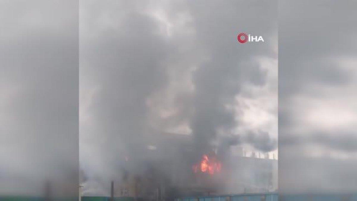 Bangladeş te gıda fabrikasında yangın: Çok sayıda ölü var #3