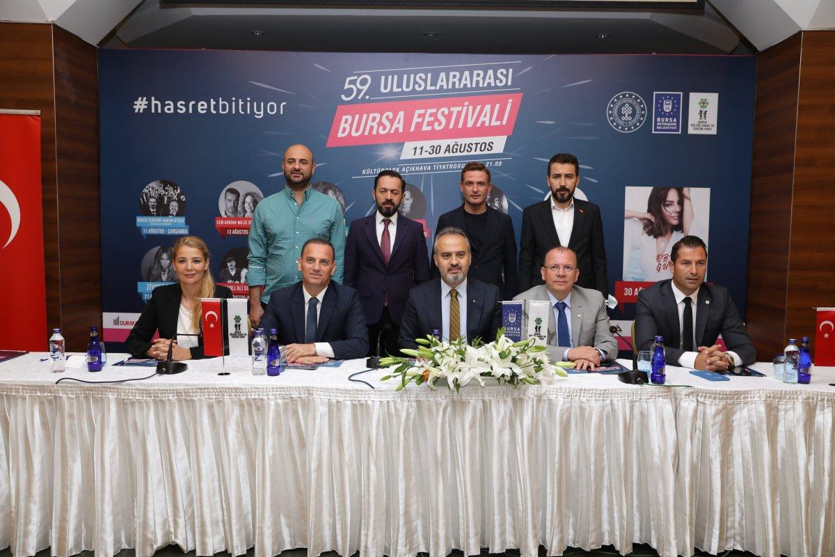 Bursa da geçen sene ertelenen festivaller bu sene yeniden düzenlenecek #1