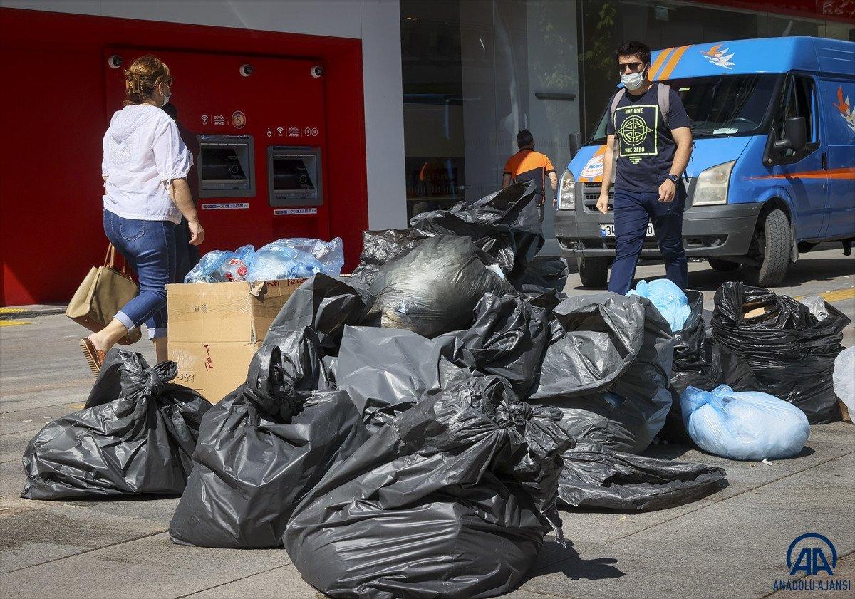 Ankara Çankaya da çöp krizi #6