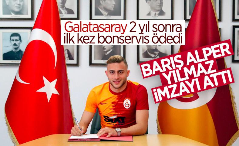 Galatasaray, Barış Alper Yılmaz transferini açıkladı