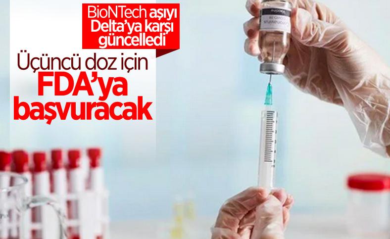 BioNTech, üçüncü doz için FDA'ya başvuracak