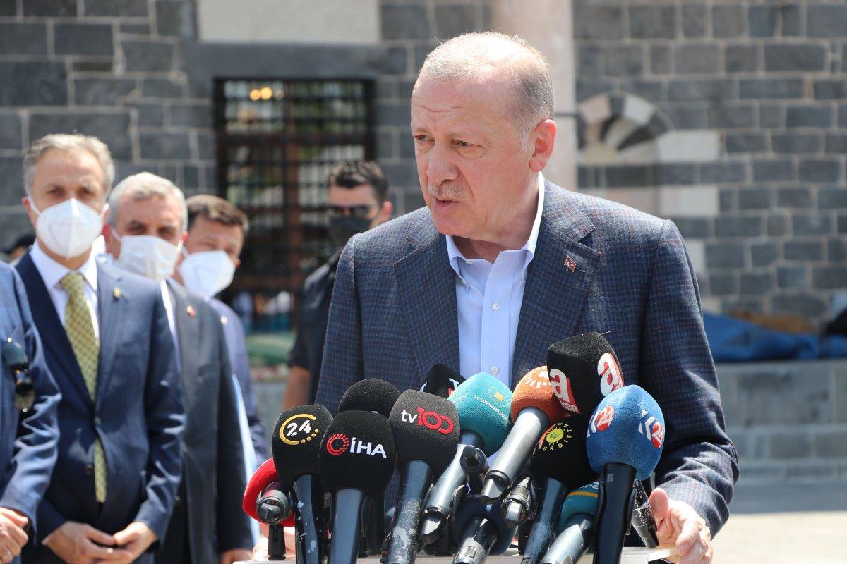 Cumhurbaşkanı Erdoğan dan bayram tatili açıklaması #4