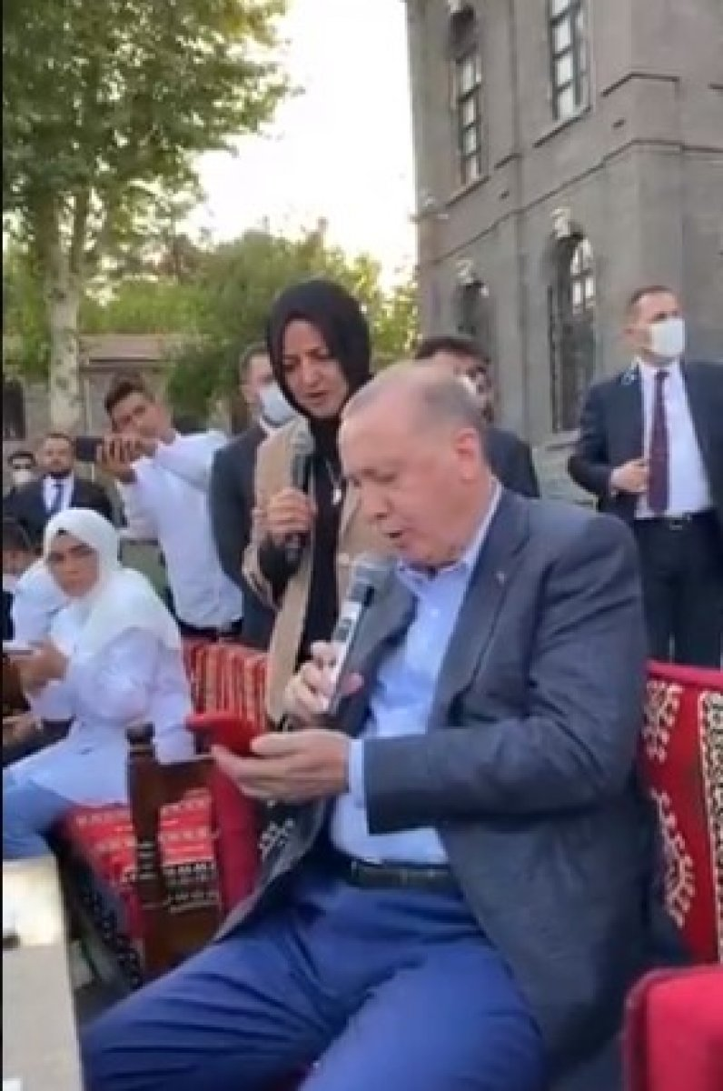 Cumhurbaşkanı Erdoğan, Gönül Dağı türküsünü söyledi #1
