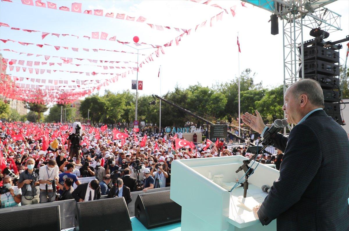 Cumhurbaşkanı Erdoğan, Diyarbakır da tamamlanan tesislerin açılış törenine katıldı #10