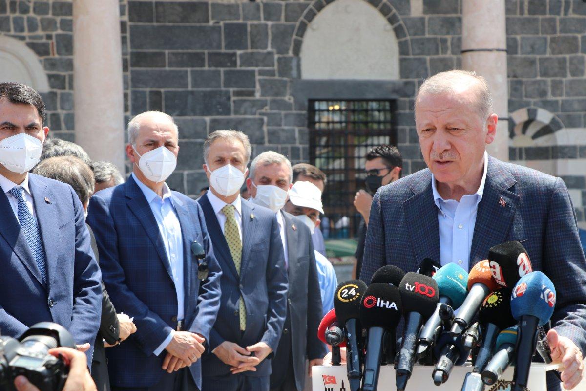 Cumhurbaşkanı Erdoğan dan bayram tatili açıklaması #2
