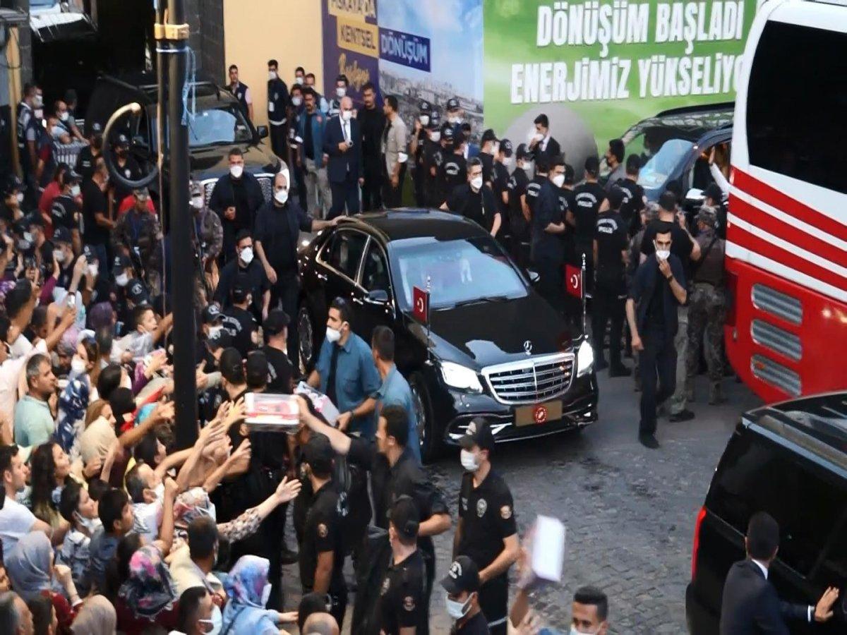 Cumhurbaşkanı Erdoğan Diyarbakır dan ayrıldı #2