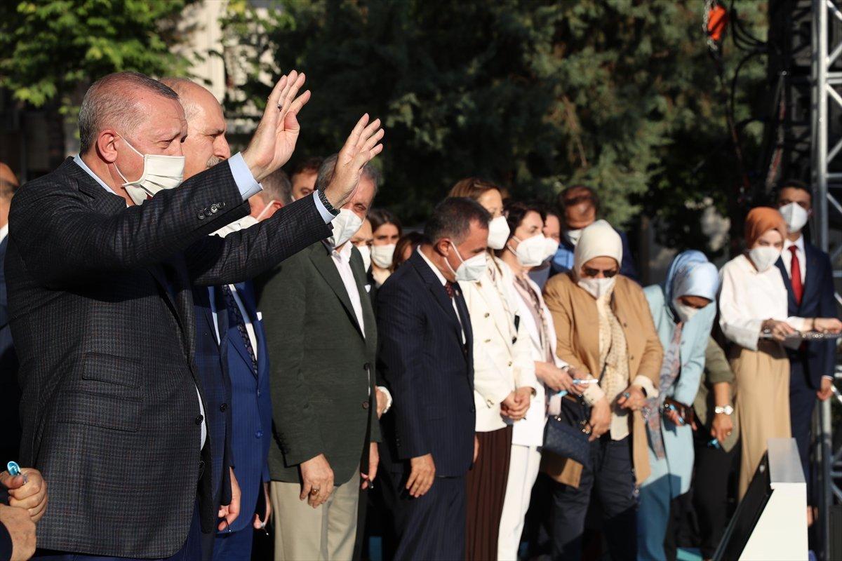 Cumhurbaşkanı Erdoğan, Diyarbakır da tamamlanan tesislerin açılış törenine katıldı #8