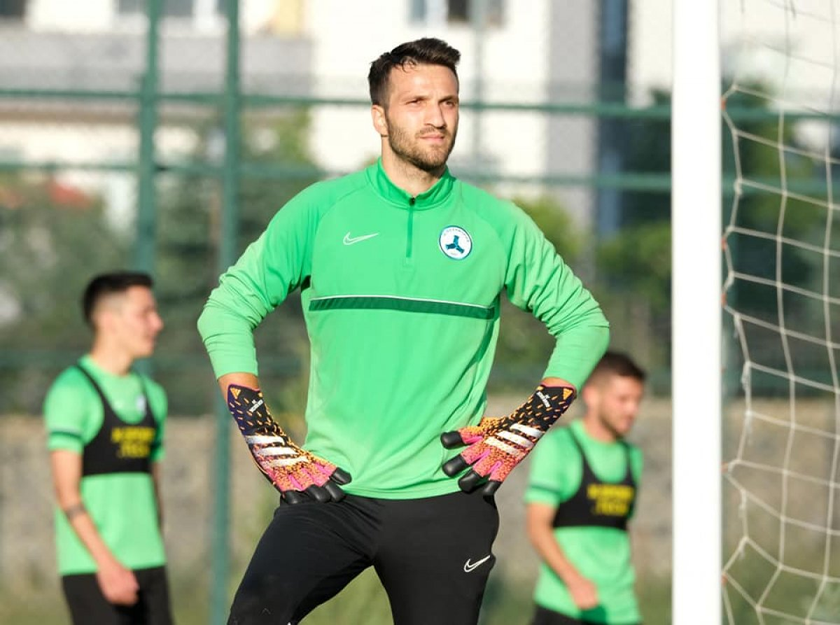 Transferi açıklanmayan Okan Kocuk, Giresunspor idmanında #2
