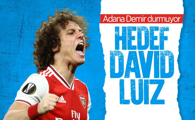 Adana Demirspor, David Luiz'in peşinde