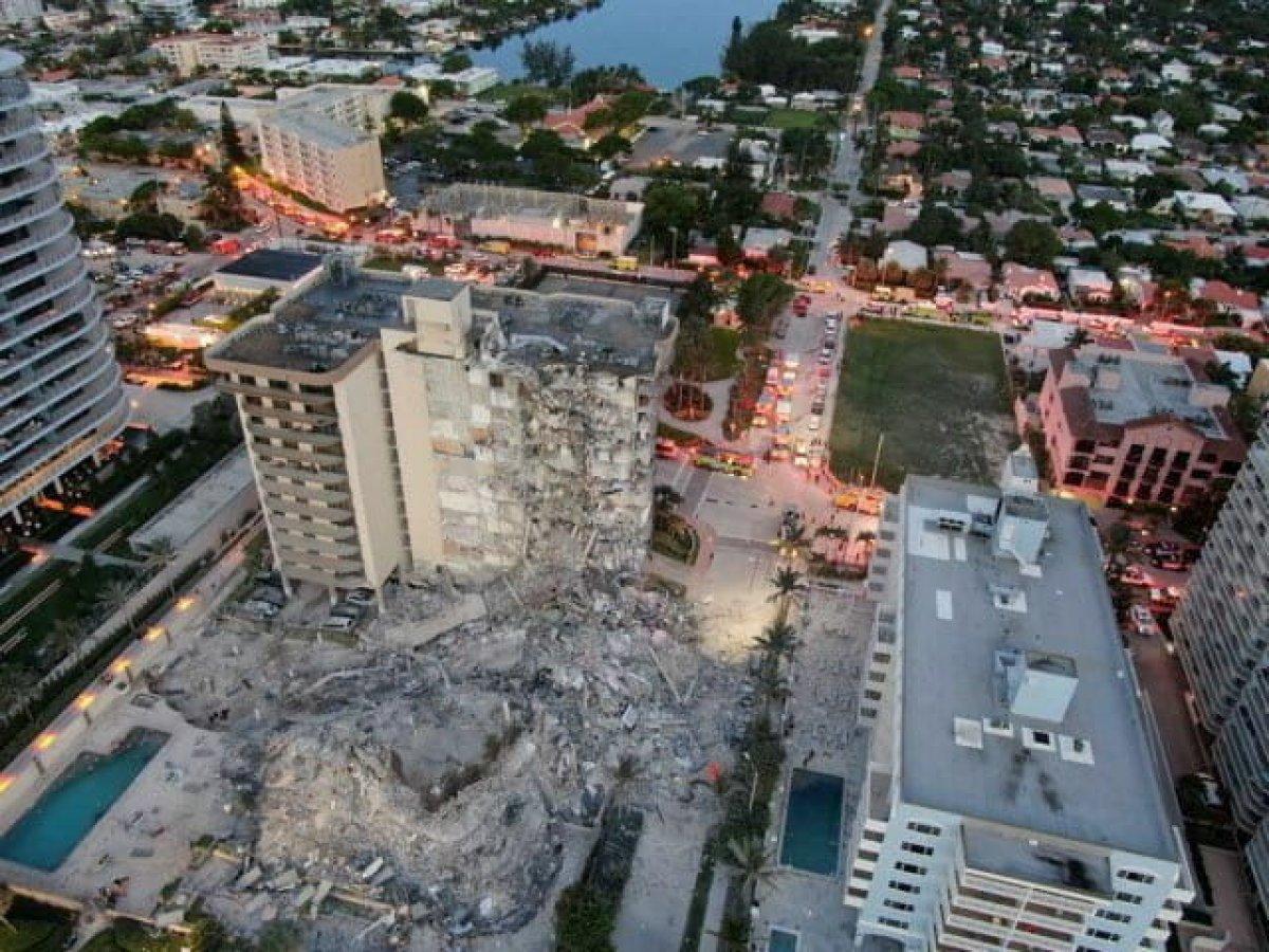 Miami de çöken 13 katlı binada ölü sayısı 60 a çıktı #5