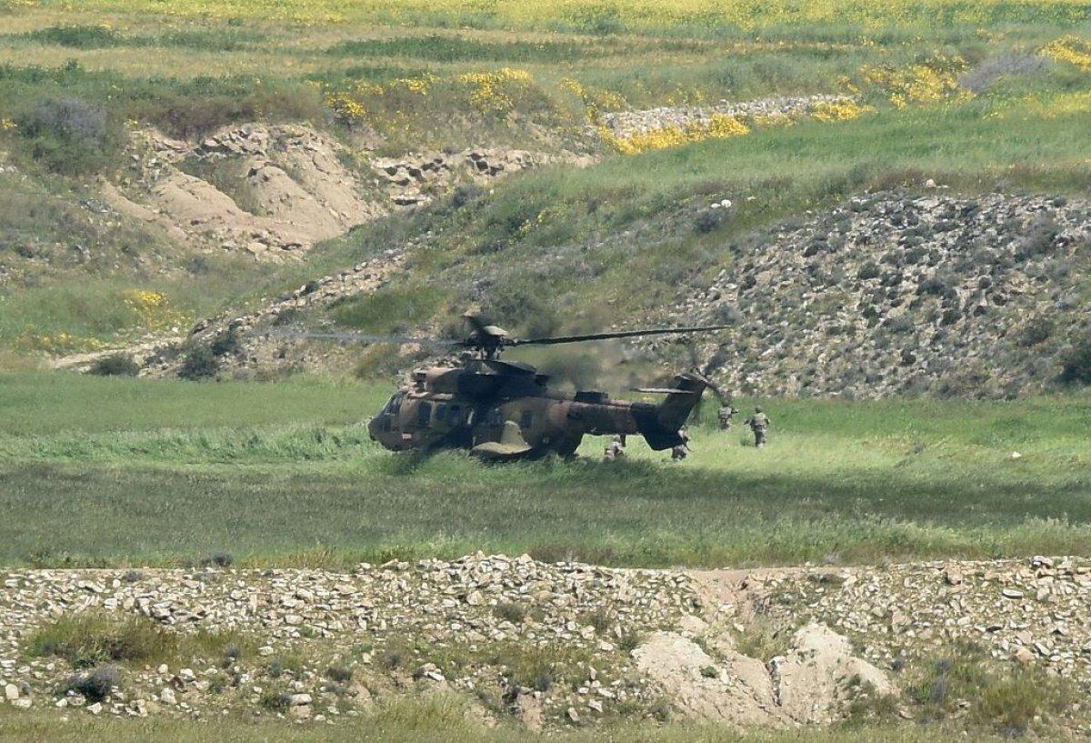Barış Pınarı ile Fırat Kalkanı bölgesinde 5 terörist öldürüldü #1