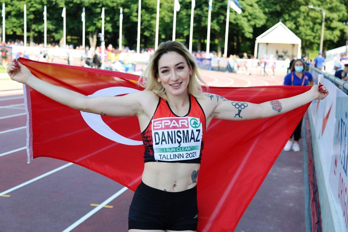 23 yaş altında Milli atlet Tuğba Danışmaz Avrupa şampiyonu #2