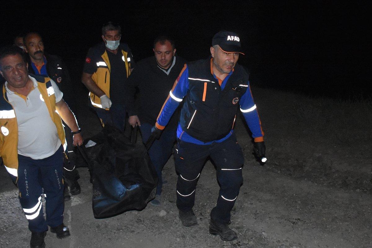 Afyonkarahisar da baraj göletinde kaybolan çocuk ile amcasının cesedi bulundu #4