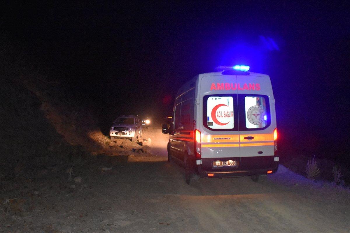 Afyonkarahisar da baraj göletinde kaybolan çocuk ile amcasının cesedi bulundu #3