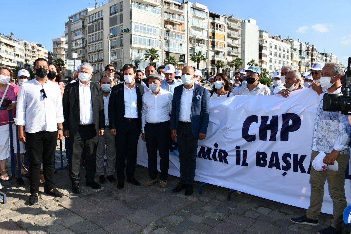 HDP nin İzmir mitingine CHP İl Başkanlığı tam kadro katıldı #1