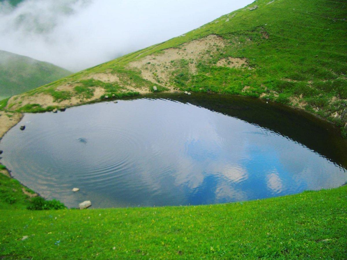 Gümüşhane deki Dipsiz Göl, eski görünümüne kavuşamadı #1