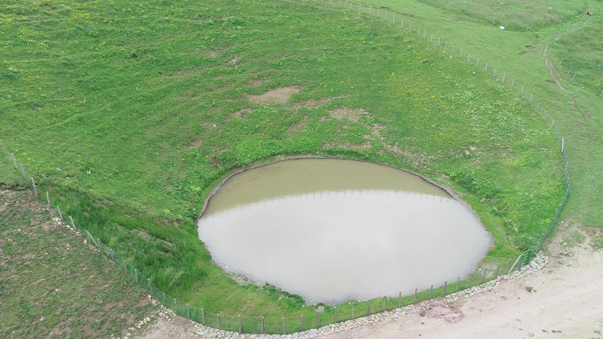 Gümüşhane deki Dipsiz Göl, eski görünümüne kavuşamadı #2