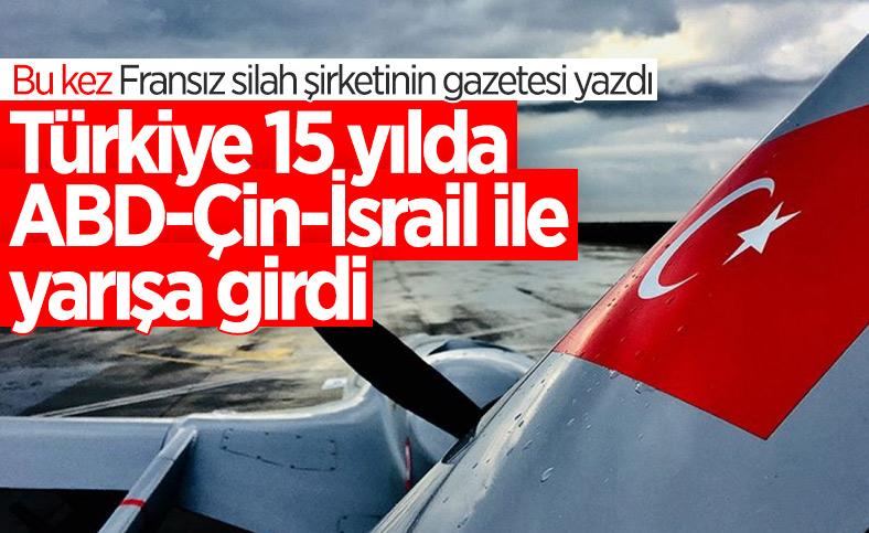 Fransız Le Figaro: Türkiye 15 yılda başlıca SİHA üreticileri arasına girdi