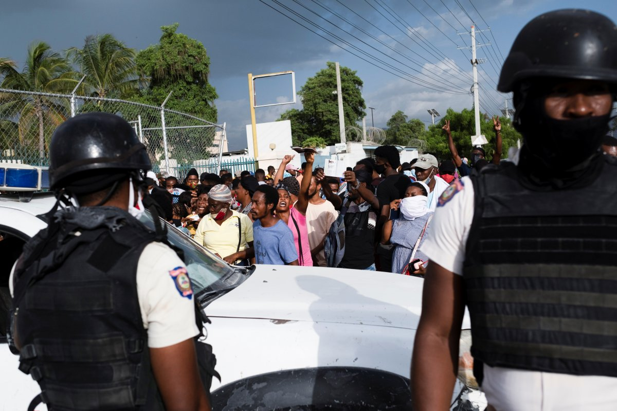 Haiti yönetimi, istikrar için ABD den asker istedi #5