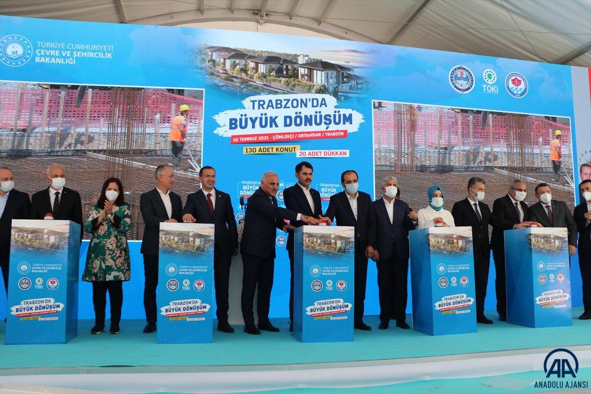 Murat Kurum dan Trabzon a kentsel dönüşüm müjdesi #3