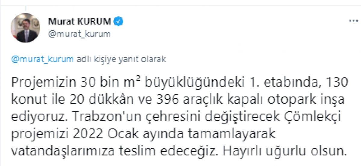 Murat Kurum dan Trabzon a kentsel dönüşüm müjdesi #6