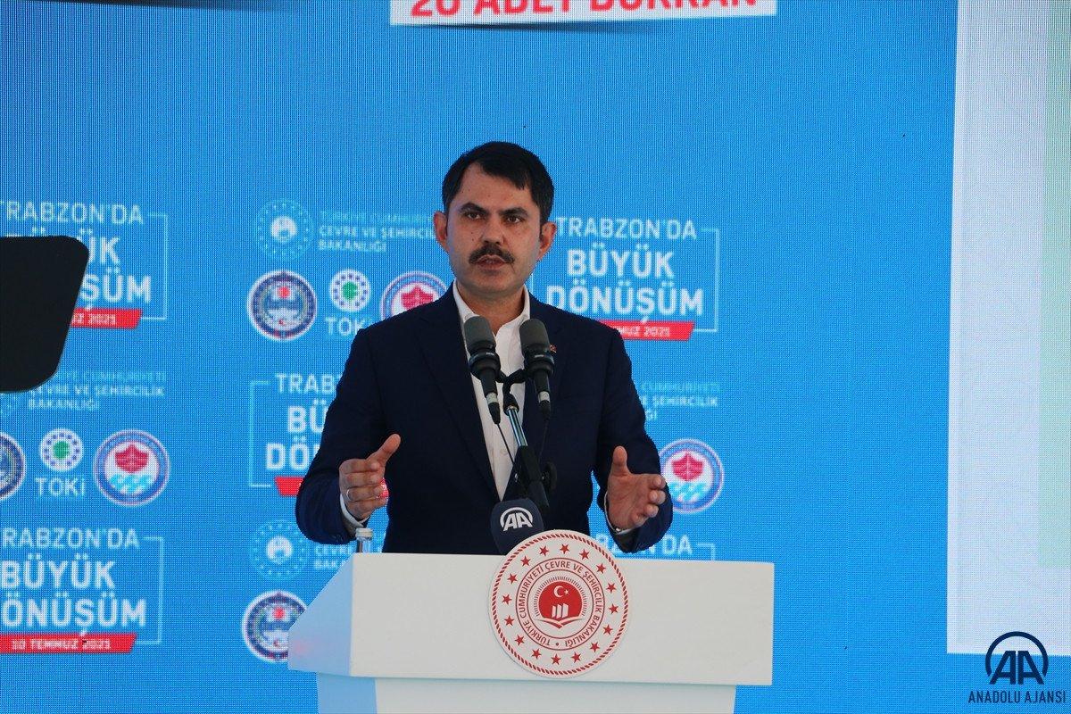 Murat Kurum dan Trabzon a kentsel dönüşüm müjdesi #1