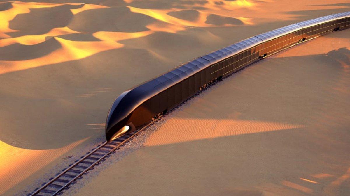 350 milyon dolarlık lüks tren konsepti ortaya çıktı #8