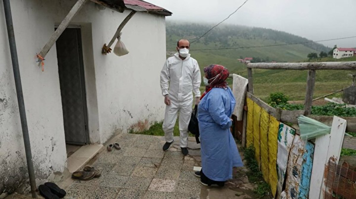Karadeniz de aşı mesaisi: Sağlık çalışanları 1800 metreye çıktı  #7