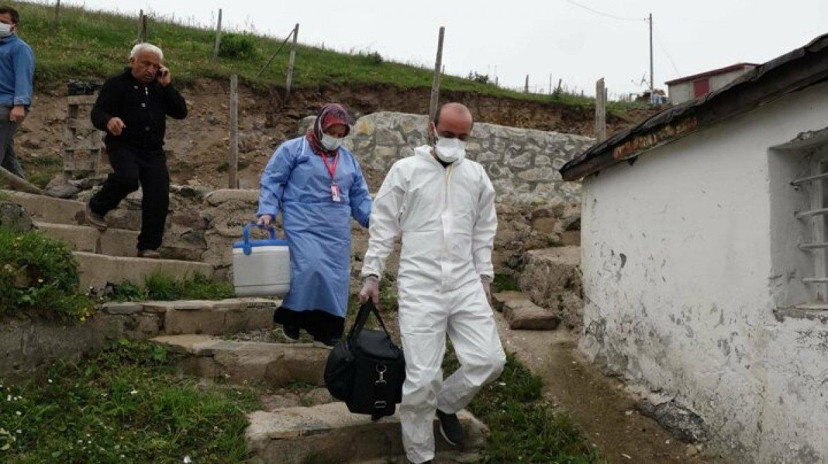Karadeniz de aşı mesaisi: Sağlık çalışanları 1800 metreye çıktı  #6
