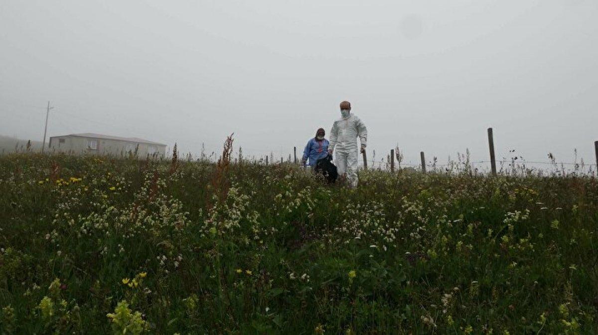 Karadeniz de aşı mesaisi: Sağlık çalışanları 1800 metreye çıktı  #10