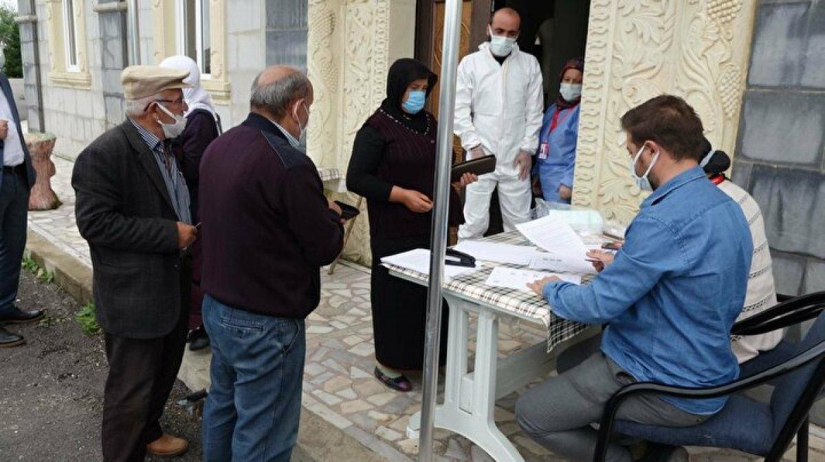 Karadeniz de aşı mesaisi: Sağlık çalışanları 1800 metreye çıktı  #4