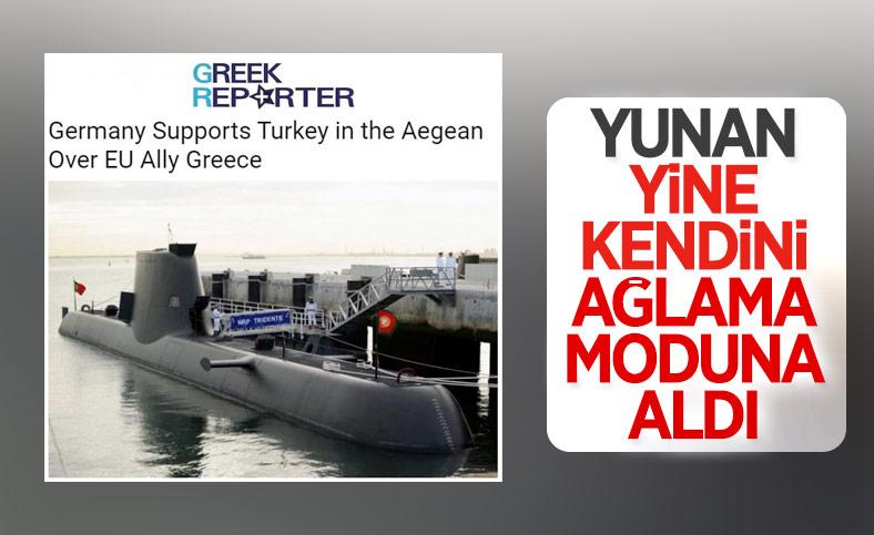 Yunan basını: Almanya, Ege'de Türkiye'yi destekliyor