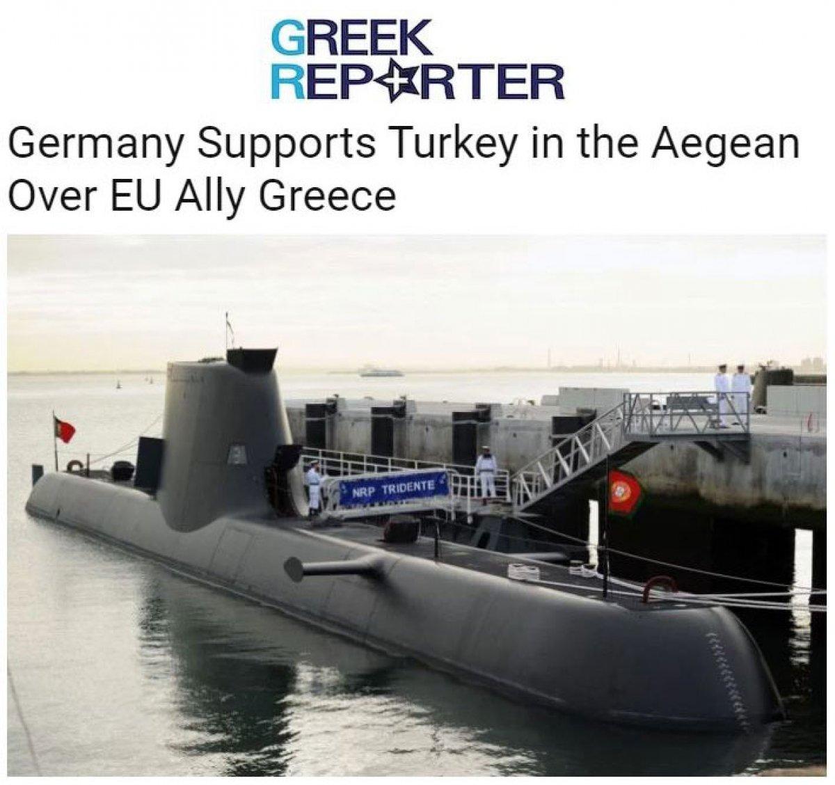 Yunan basını: Almanya, Ege de Türkiye yi destekliyor #3