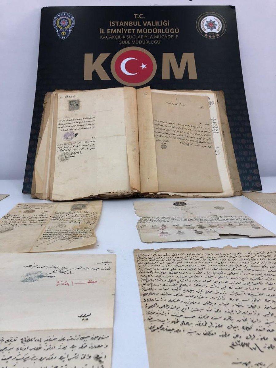 Kadıköy de 12 adet Kadı Hücceti ele geçirildi #5