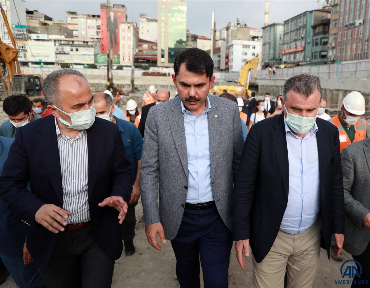 Murat Kurum, Rize de devam eden kentsel dönüşüm çalışmalarını değerlendirdi #2