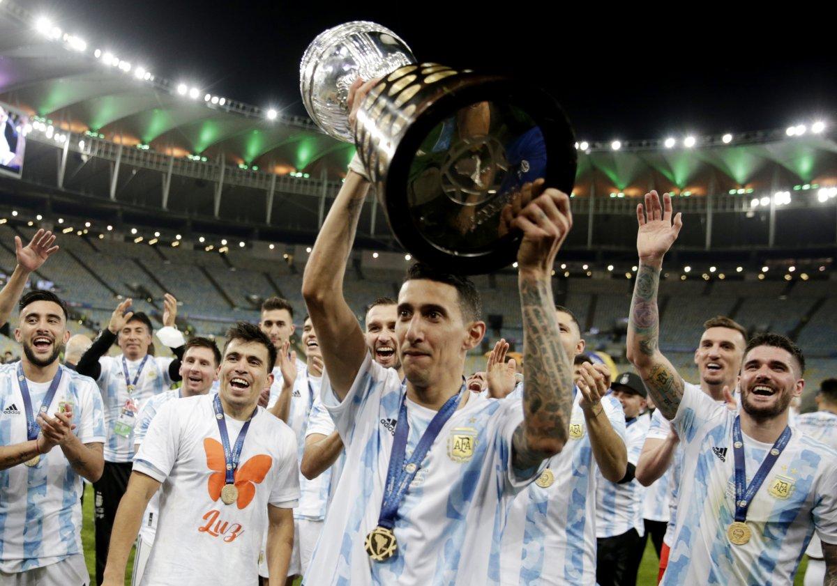 Brezilya yı yenen Arjantin, Kupa Amerika yı kazandı #7