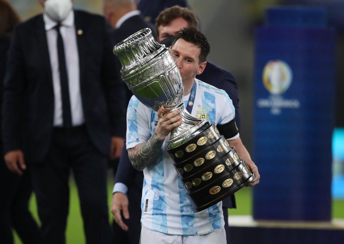Brezilya yı yenen Arjantin, Kupa Amerika yı kazandı #6