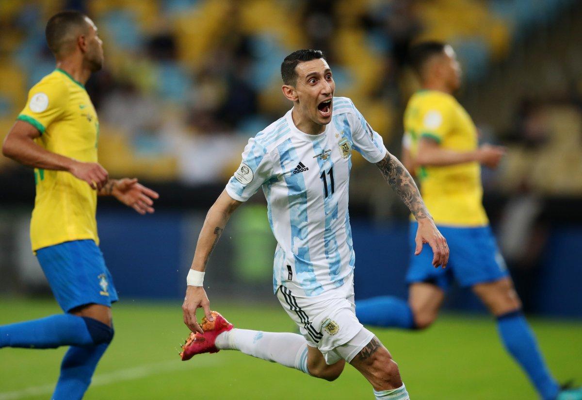 Brezilya yı yenen Arjantin, Kupa Amerika yı kazandı #1