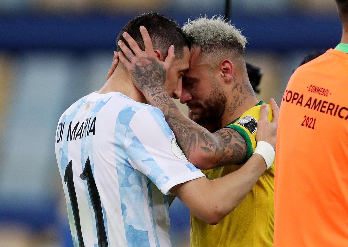 Brezilya yı yenen Arjantin, Kupa Amerika yı kazandı #4